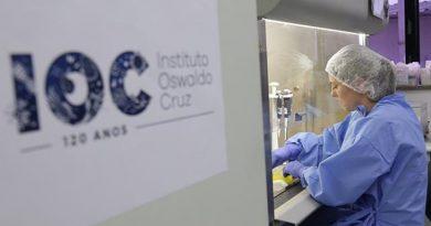 Na Fiocruz, no Rio, diagnóstico laboratorial de casos suspeitos do novo coronavírus. FOTO: Josué Damacena (IOC/Fiocruz)